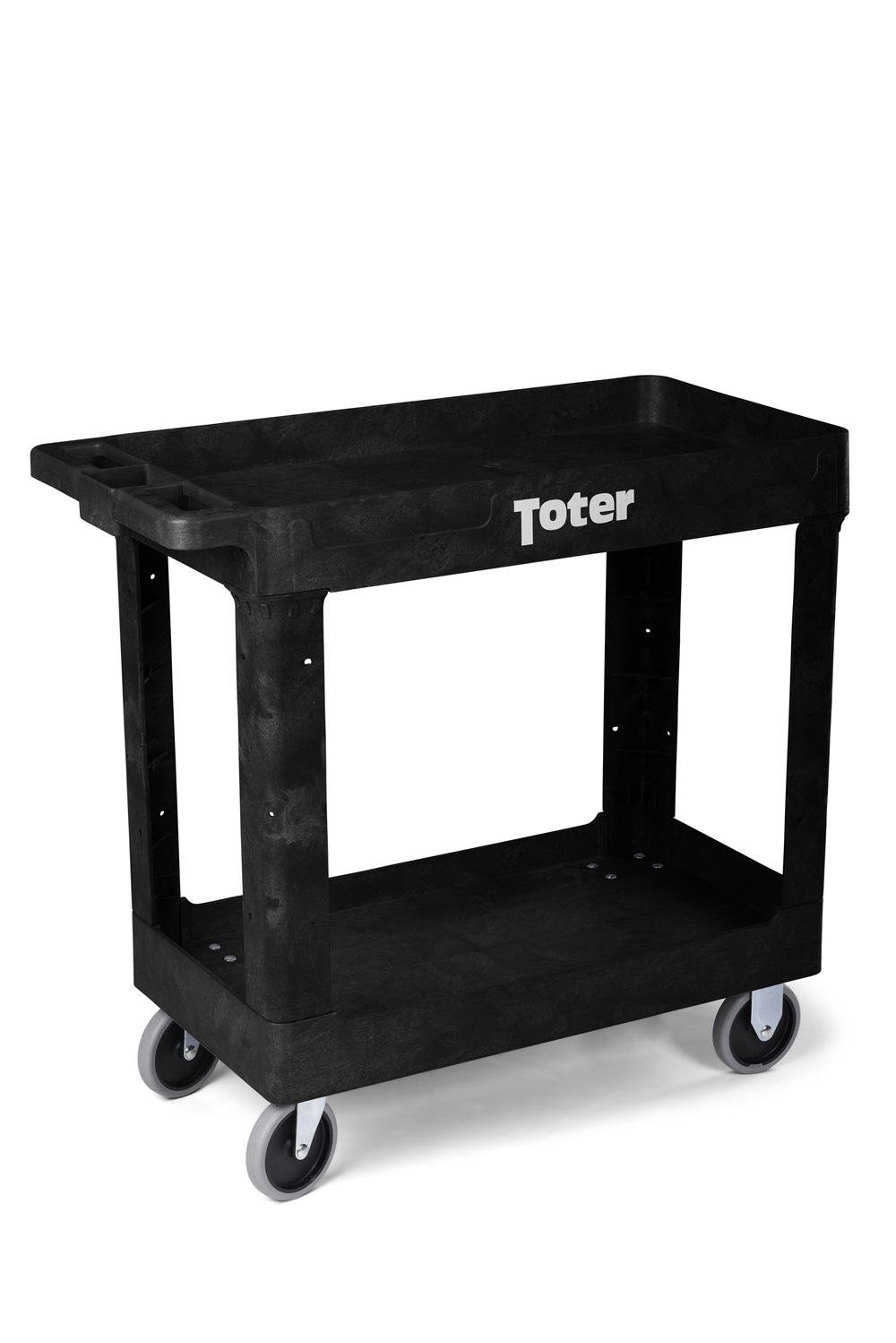 Buy Toter Material Handling Utility Cart With Lipped Top And Straight Handle