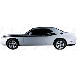 2008-2010 Challenger Double Stripe Body Line Kit