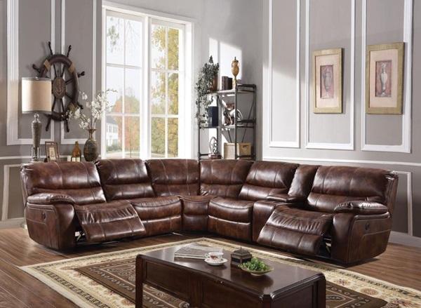 Acme Furniture 52070 Brax Power Motion Sec Sofa