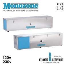 Monozone™ Ultraviolet Air Ozone Generators