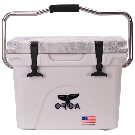 Kryptek Snow Camo Lid White 20 Quart