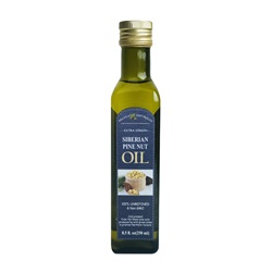 Selina Naturally Extra Virgin Siberian Pine Nut Oil 8.5 oz
