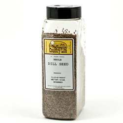 Dill Seed, Whole - 12 oz