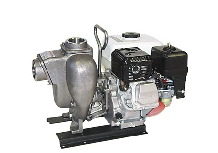 "Banjo 2"" Stainless Steel Centrifugal Pump with 5 HP Electric Motor"