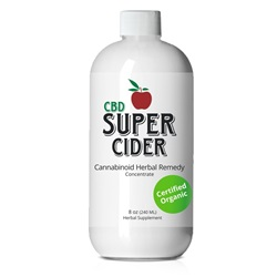 CBD Super Cider 8 oz (240ml)