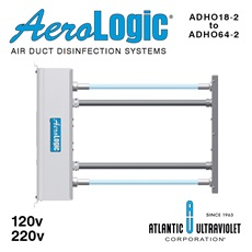 AeroLogic® UV Air Duct Commercial Disinfection Units - Two Lamp High Output