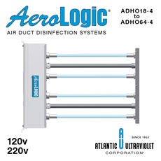 AeroLogic® UV Air Duct Commercial Disinfection Units - Four Lamp High Output