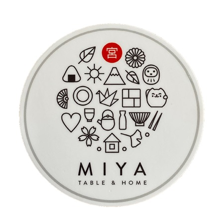 Miya Sticker Icons White