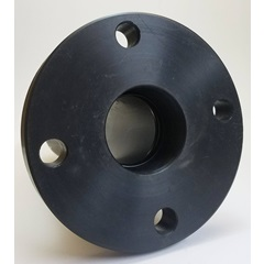 "3"" Polyethylene Weld Flange Tank Fitting - Front"