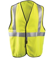 Premium Flame Resistant 5-pt. Break-Away Solid Vest HRC 1