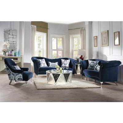 50346 LOVESEAT W/3 PILLOS