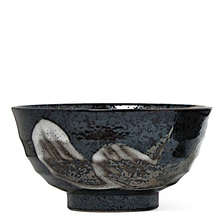 "Brush Stroke 6.75"" Noodle Bowl"