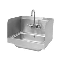 "Advance Tabco 7-PS-15A Welded Side Splash 12"" Tall"
