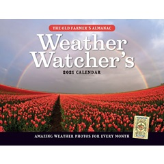 The Old Farmer's Almanac 2021 Weather Watcher's Calendar