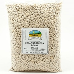 Great Northern Beans, Organic - 5lb Bag