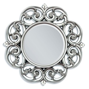 "97061 SILVER ACCENT MIRROR, 30""D"