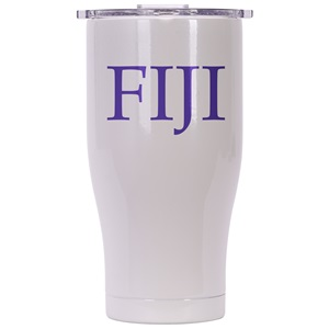 Phi Gamma Delta Pearl/Clear Chaser 27oz
