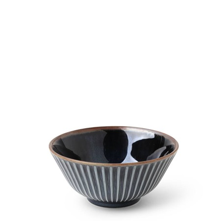 "Aiya Navy 4.75"" Bowl"