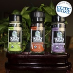 Set of Three - Organic Seasoned Celtic Sea Salt ® Blends