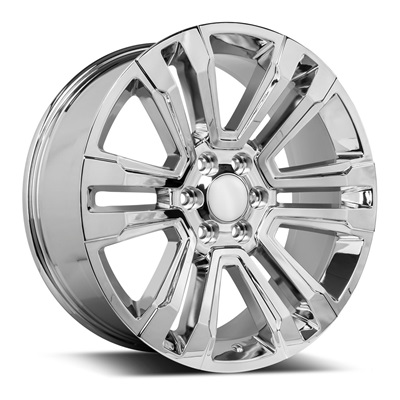 OE Replica 587 Series 22x9 6x139.7 - Chrome