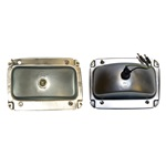 1964 ½ Mustang Tail Light Housing - Left Hand