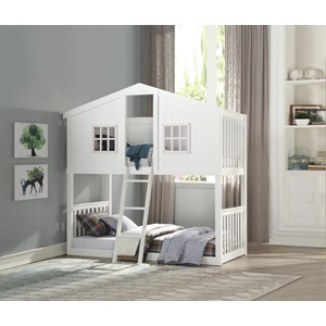37410 Rohan Cottage Twin Over Twin Bunk Bed