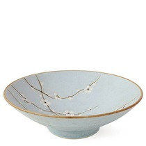 "Spring Blossoms 9.75"" Serving Bowl"