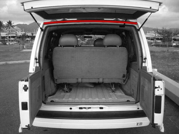 1985-2005 Chevy GMC Astro Safari Van Rear Cargo Door Upper Drip Rail