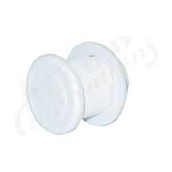 AIR BUTTON: #10 POWER TOUCH, WHITE