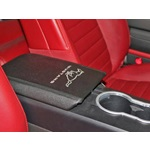 Mustang arm rest cover w/horse