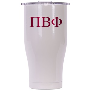Pi Beta Phi Pearl/Clear Chaser 27oz