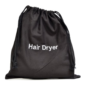Hair Dryer Bag, Black