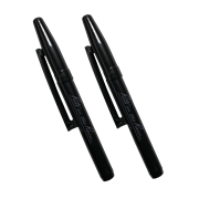 Black Belt-Clip Pen