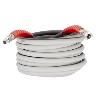 "50ft 6000 PSI 3/8"" Non Marking Rubber Hose"