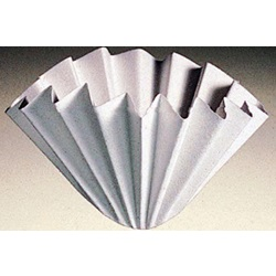 Filter Paper, Crepe Fluted Circles