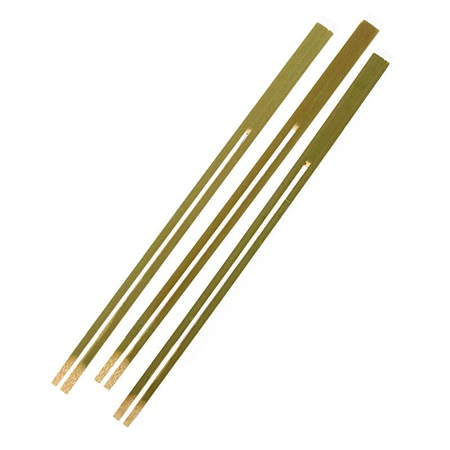 Bamboo Fruit Forks 7""