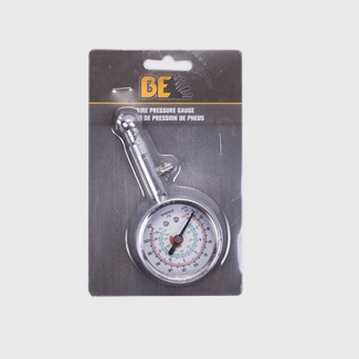 AIR TIRE GAUGE, METAL BODY