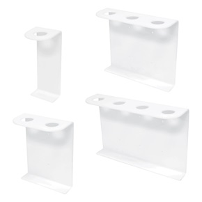 32oz Cylinder Dispenser Brackets, White