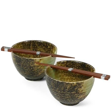 "IWA SHIMIZU 5.5"" BOWL FOR TWO SET"
