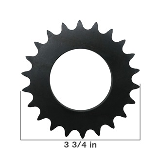 "#40 Sprocket 1/2"" Pitch"