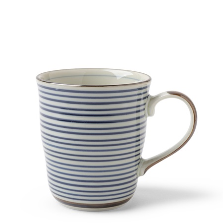 Celadon Stripes 8 oz. Mug