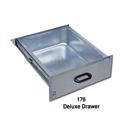 Duke Manufacturing 176LK Deluxe Drawer Stainless Steel Front