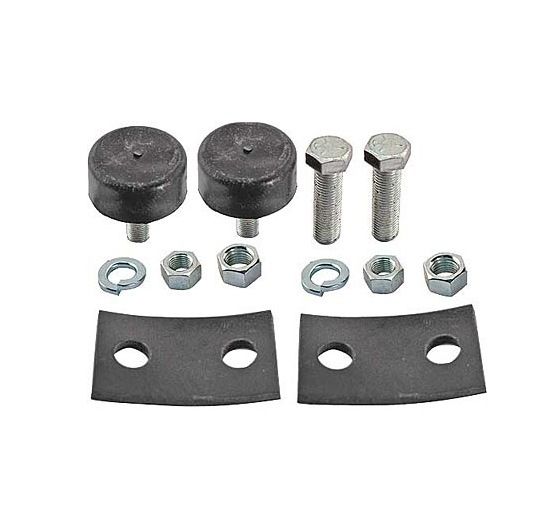 Steele Rubber Products - Radiator mounting pad kit