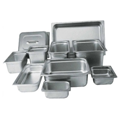 "Winco SPJM-104 Steam Table Pan Full Size X 4"" Deep"
