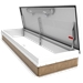 White 30 x 96 Personnel Roof Hatch, Steel