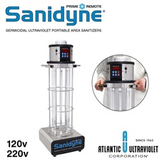 Sanidyne® Prime Remote UV Portable Air and Surface Sanitizers