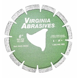 Ninja Arbor Early Entry Blades for Green Concrete - Medium Hard Aggregate, Chert, Traprock