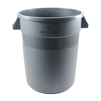 Economy 32 Gallon Gray Waste Container