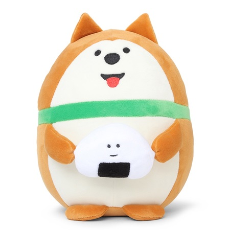 Plush Dog with Omusubi Large