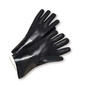 Black PVC Gloves